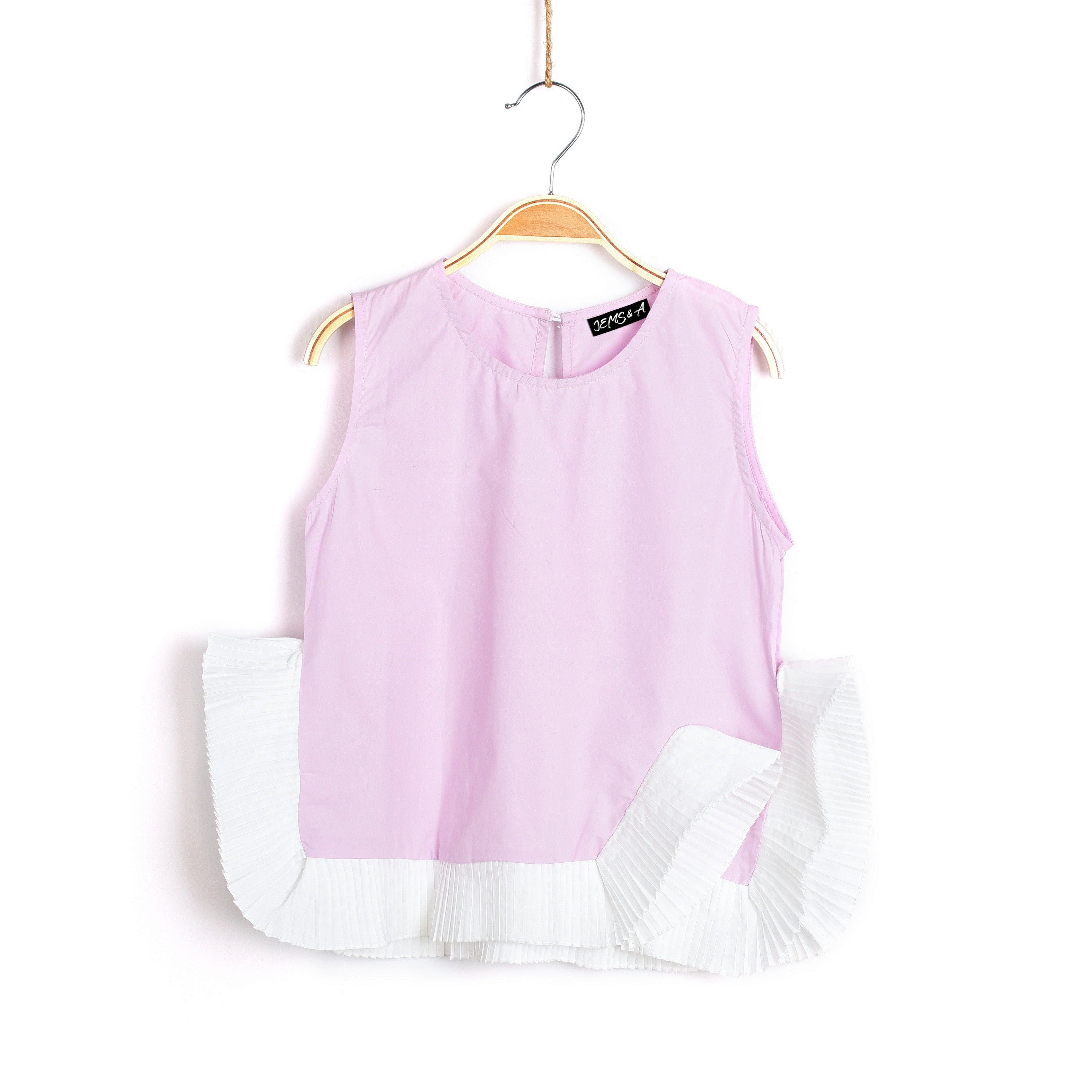 Roxy N Ruffles Top Baby Pink Girls boutique outfits