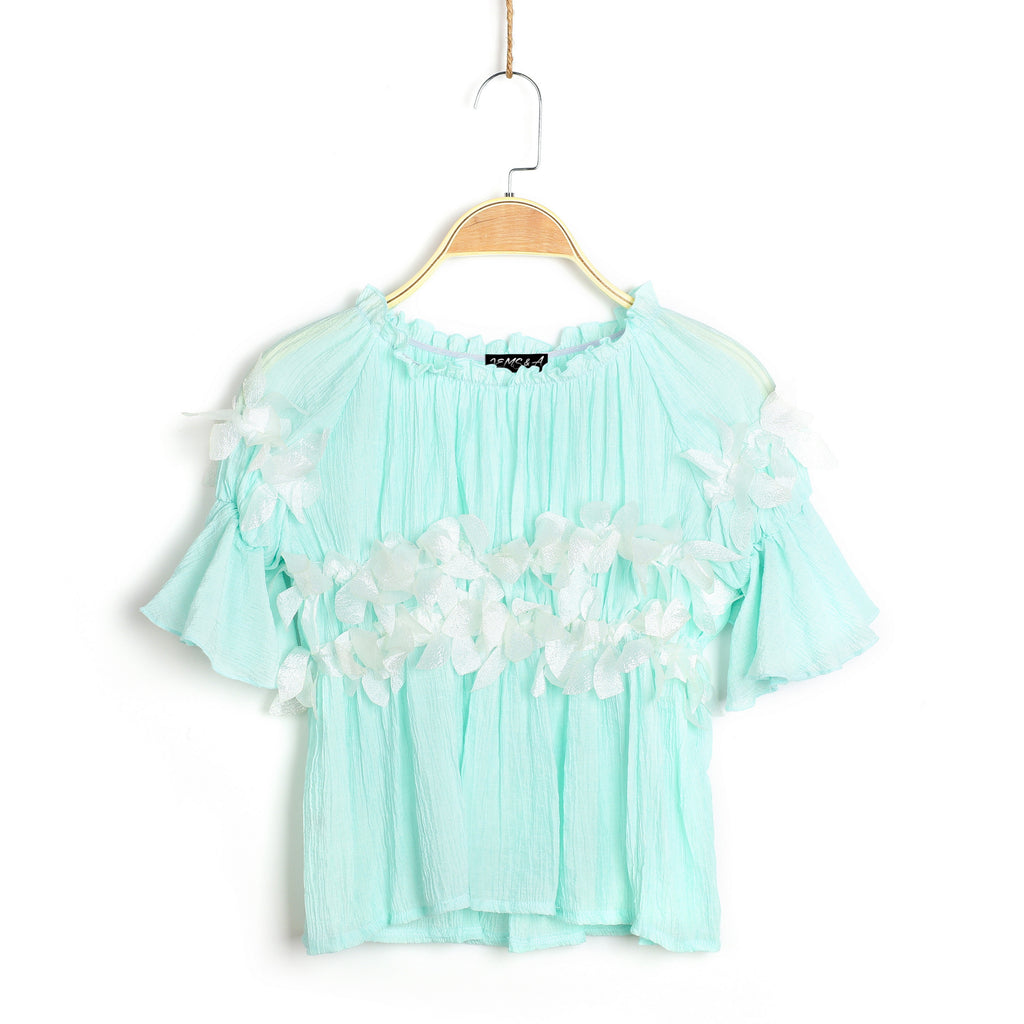Mint with Envy Top