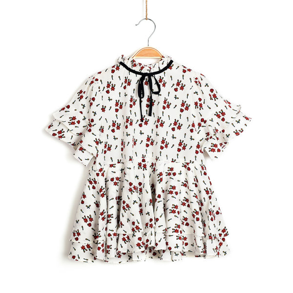 Venice Floral Printed Top