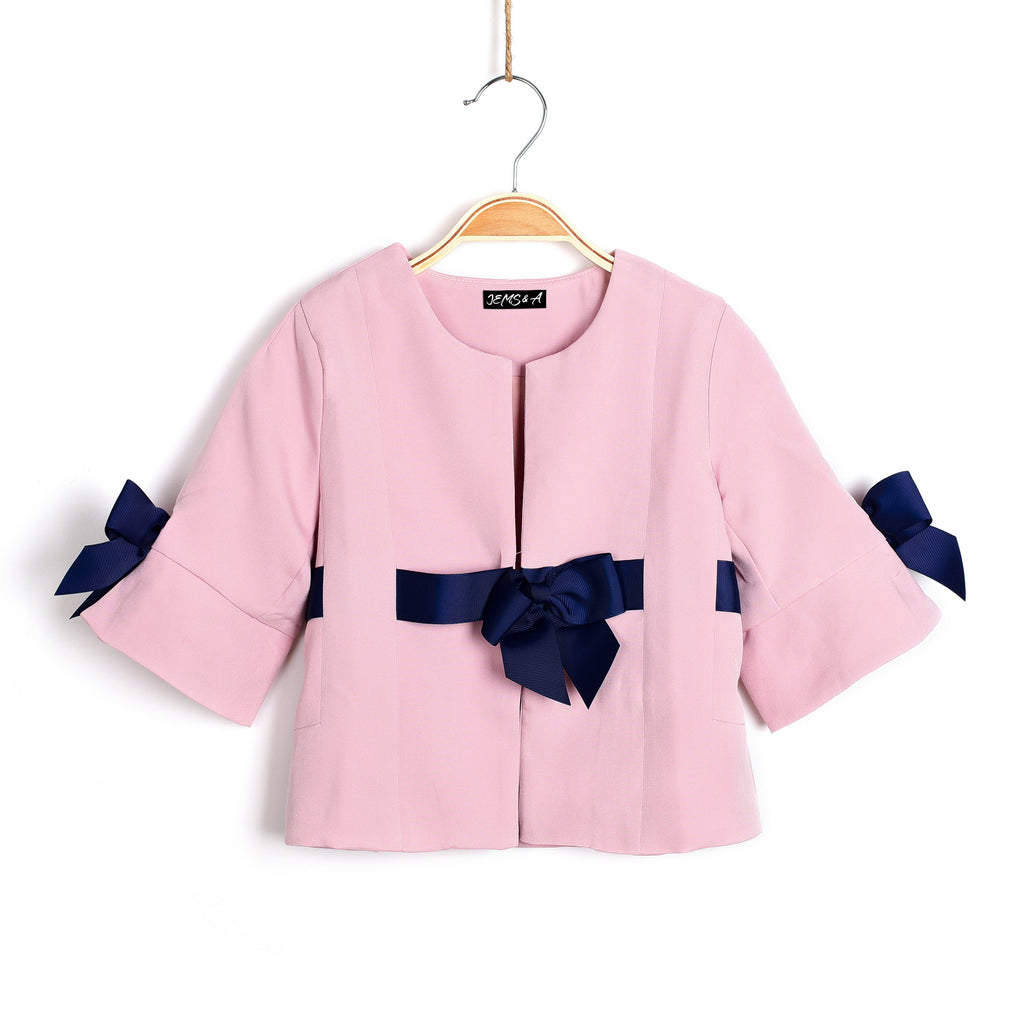 Blushes & Bows Pink Jacket