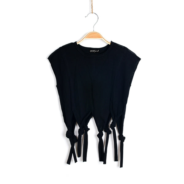 Knots of Fun Black Top