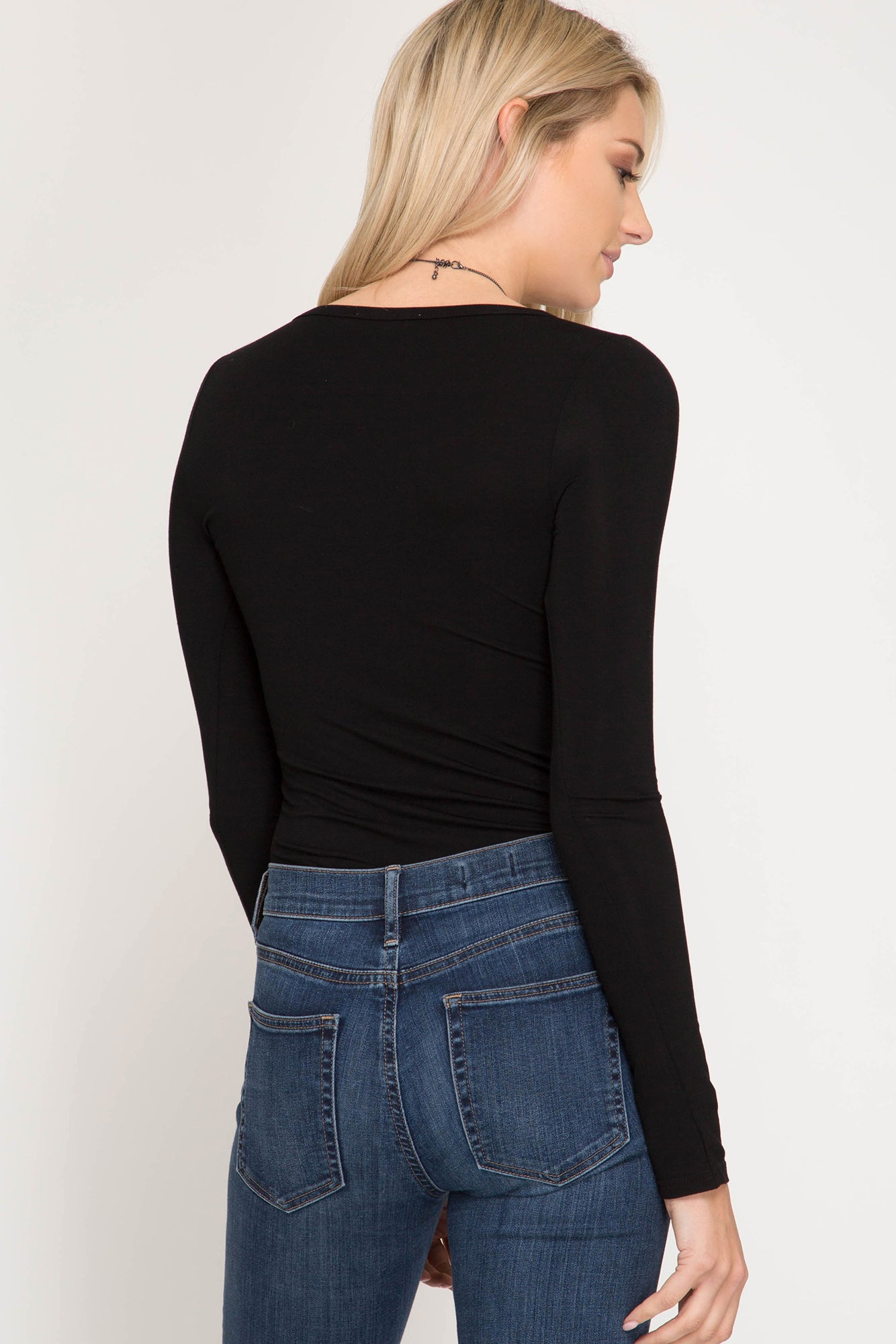 Basics: Black Long Sleeve