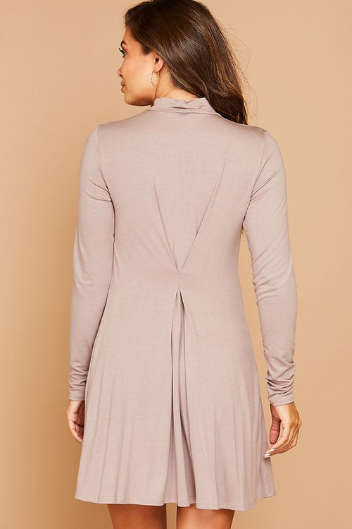 Belvidere Dress - Mocha
