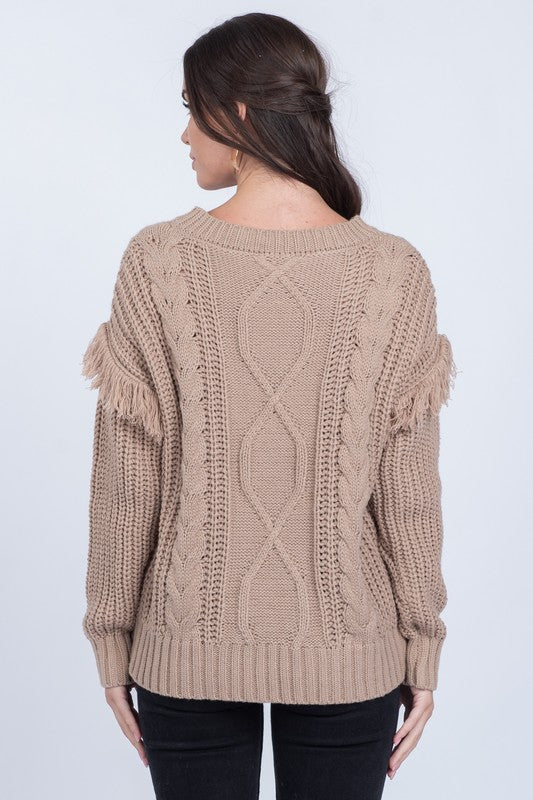 Fillmore Fringe Sweater