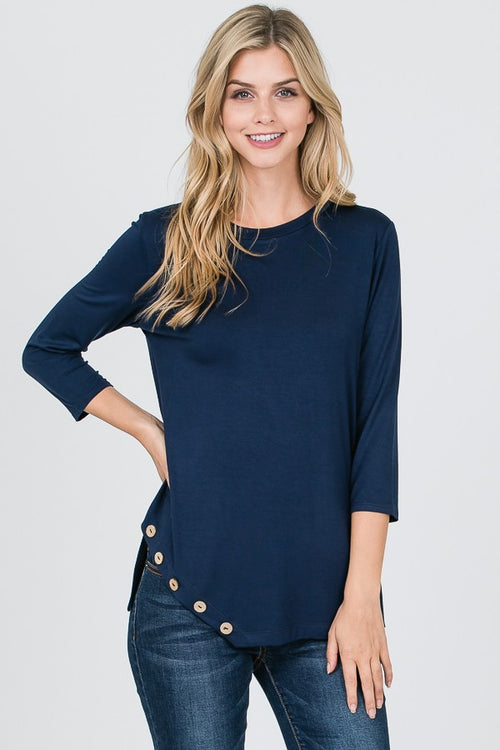 Novato Navy Top
