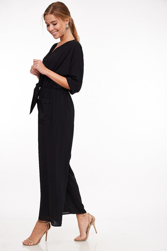 Rosewood Jumpsuit - Black