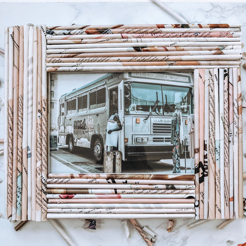 Handmade Upcycled Picture Frames