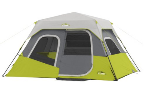 CORE Equipment also makes a great c&ing tent that sleeps up to six people. This tent includes a rainfly carrying bag and tent stakes making the setup ...  sc 1 st  Tentsy & Top 25 Best Instant Tents of 2017 | Tentsy Review u2014 tentsy