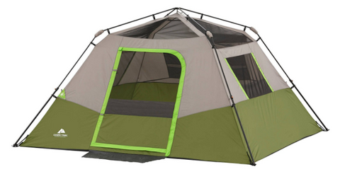 The Ozark Trail Tents Instant cabin tent sets up in thirty seconds. Ozark Trail six-person Instant Cabin Tent has three windows and an electrical access ...  sc 1 st  Tentsy & The Top 25 Ozark Trail Tents of 2017 | Tentsy Review u2014 tentsy