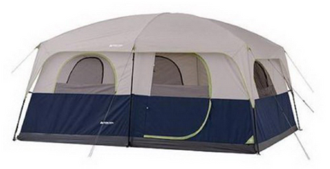 The Ozark Trail Tents two room cabin tent sleeps up to ten people. It is easy to set up because the poles are already attached. The Ozark Trail tent is tan ...  sc 1 st  Tentsy & The Top 25 Ozark Trail Tents of 2017 | Tentsy Review u2014 tentsy