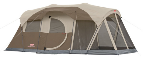 Coleman 6 Person 2 Room Instant C&ing Tent with WeatherMaster Protection - $176.99  sc 1 st  Tentsy & Top 25 Best Instant Tents of 2017 | Tentsy Review u2014 tentsy