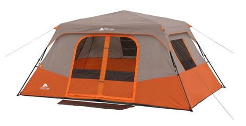 8 Person Instant Cabin C&ing Tent with Large Windows. This Ozark Trail ...  sc 1 st  Tentsy & The Top 25 Ozark Trail Tents of 2017 | Tentsy Review u2014 tentsy