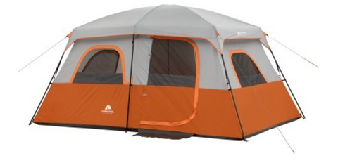 The Ozark Trail Tents Orange Cabin Tent sleeps ten people and has two rooms. The tent is easy to assemble because the poles are attached.  sc 1 st  Tentsy & The Top 25 Ozark Trail Tents of 2017 | Tentsy Review u2014 tentsy