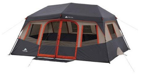 Orange Ozark makes these best instant tents. For use in the outdoors these tents have two rooms. They fit 10 people comfortably and have lots of room to ...  sc 1 st  Tentsy & Top 25 Best Instant Tents of 2017 | Tentsy Review u2014 tentsy