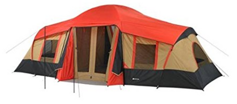 The Ozark Trail Tents have many versions so letu0027s start with the red cabin one that has three rooms and a front porch. The built in mat helps keeps the tent ...  sc 1 st  Tentsy & The Top 25 Ozark Trail Tents of 2017 | Tentsy Review u2014 tentsy
