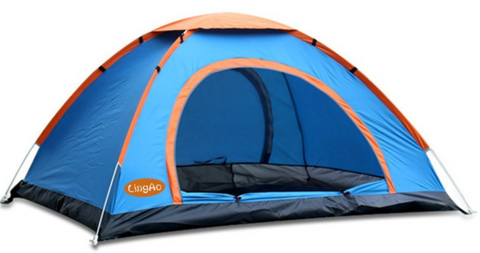 Lightweight Blue Pop Up C&ing Tent for Backpacking by LingAo  sc 1 st  Tentsy & Top 35 Best Pop Up Tent Products of 2017 | Tentsy Reviews u2014 tentsy