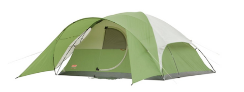 Coleman Evanston 8 Tent is spacious because up to 8 people can sleep comfortably in it. The tent has a hinged door and a footprint of around 12 by 12 feet.  sc 1 st  Tentsy & Top 50 Best Coleman Tents Reviewed u2014 tentsy