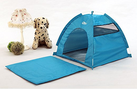 A quick folding pet tent by Yooye is a tent that looks like a dome tent for humans. You can buy it in blue or orange. It has a one-touch setup and ... & The Best Pet Tent of 2017 | Top 25 Reviewed u2014 tentsy