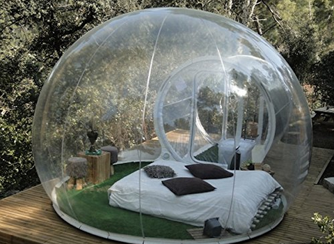 affordable outdoor single tunnel inflatable bubble tent for families with garden igloo occasion. Black Bedroom Furniture Sets. Home Design Ideas