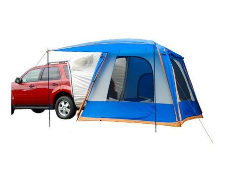 The extra-roomy Sportz SUV tent measures a generous 9u0027 x 9u0027 and serves as a truck bed tent via the sleeve attachment as well as an extension tent.  sc 1 st  Tentsy & The Best Truck Bed Tent of 2017 | Top 25 Reviewed by Tentsy u2014 tentsy