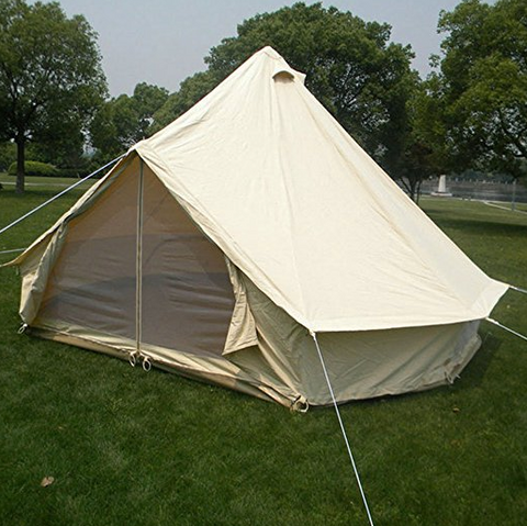 The new 2017 improved Ultimate bell tent is light weight and made of strong 100% cotton canvas. It has a heavy duty fire retardant PVC zipped-in ground ... & The Best Glamping Tents of 2017 | Top 30 Reviewed u2014 tentsy