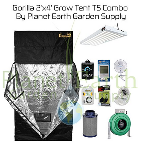 2x4 Gorilla Grow Tent Combo Package #1 - $870  sc 1 st  Tentsy & The Best Gorilla Grow Tent of 2017 | Top 50 Reviewed u2014 tentsy