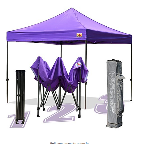10 X 10-feet Commercial Instant Canopy by Abccanopy. 103 reviews with 4.5/5 stars. It is purple and comes with a carrying bag.  sc 1 st  Tentsy & The Best Canopy Tent of 2017 | Top 50 Canopy Tents Reviewed u2014 tentsy