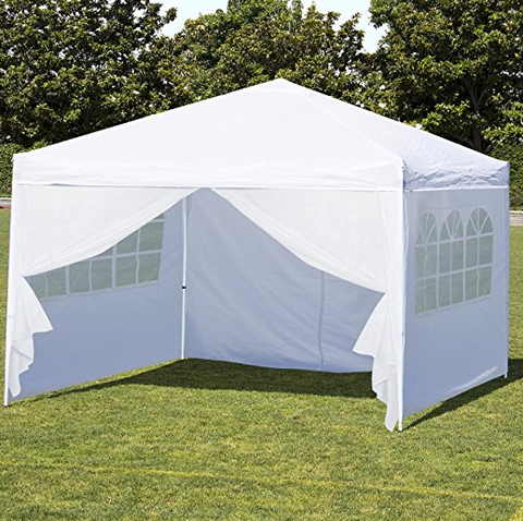 10u0027X10u0027 tent with side walls by Best Choice. This canopy tent 10x10 received 82 reviews with 2.8/5 stars. People liked the price easy setup ... & The Best Canopy Tent of 2017 | Top 50 Canopy Tents Reviewed u2014 tentsy