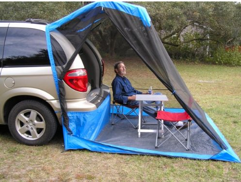 Tailveil SUV Tent + Rainfly & Top 20 Best SUV Tent Setups of 2017 | Tentsy Review u2014 tentsy