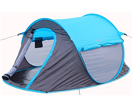 Three mesh openings provide superb ventilation in this 2 person instant tent. Flooring is attached and an inner utility bag provides storage for c&ing ...  sc 1 st  Tentsy & Top 25 Best 2 Person Instant Tent Products of 2017 | Tentsy Review ...