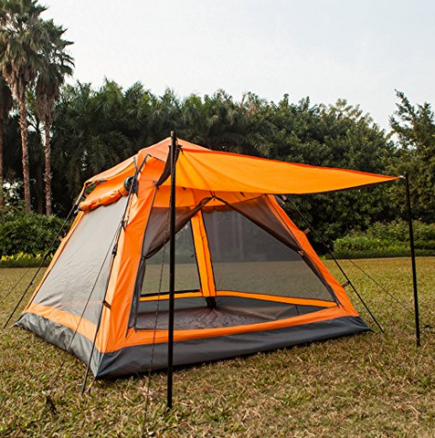 Cheap 4 Person Tent by Kansoon - $79.99 & Top 35 Best 4 Person Tents of 2017 | Tentsy Review u2014 tentsy