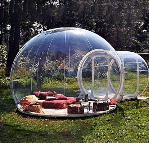 cheap bubble tent