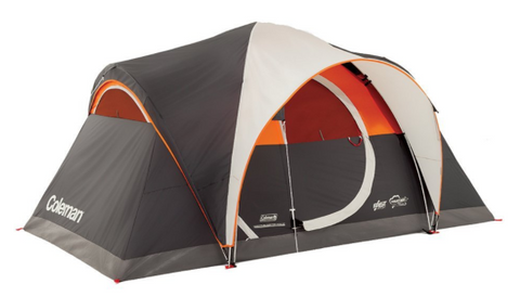 Coleman Yarborough Pass 6 Tent is among the best Coleman tents due to its attractive design and stability. The gray/gold tent can sleep 6 people.  sc 1 st  Tentsy & Top 50 Best Coleman Tents Reviewed u2014 tentsy