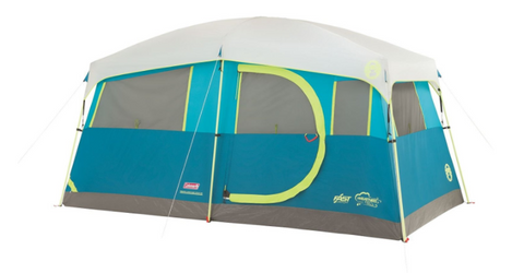 6 Person Tenaya Fast Pitch Cabin Tent with Cabinets by Coleman  sc 1 st  Tentsy & Top 50 Best Coleman Tents Reviewed u2014 tentsy