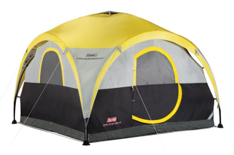 The Coleman All Day 4-person Shelter and Tent is a fantastic tent that provides a shelter footprint of 10 x 10 ft. (3 x 3 m. The tent is perfect to have ...  sc 1 st  Tentsy & Top 50 Best Coleman Tents Reviewed u2014 tentsy