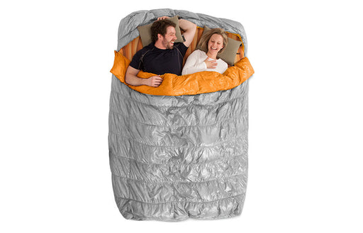 2 Person Tango Sleeping Bag by Nemo - Duo Slim and Slipcover