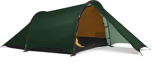 2 Person Anjan 2 Tent by Hilleberg - Green, Red