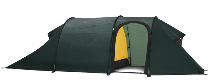 2 Person Nammatj 2 GT Tent by Hilleberg- Green, Red, or Sand
