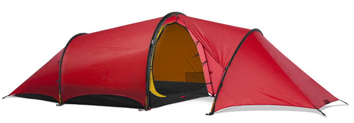 2 Person Anjan 2 GT Tent by Hilleberg - Green, Red