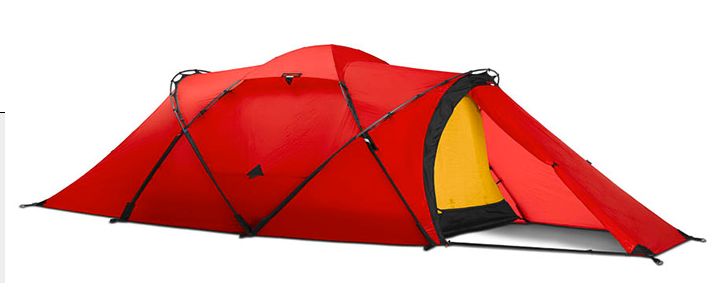 2 Person Tarra Tunnel Tent by Hilleberg - Green, Red, Sand