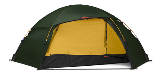 2 Person Allak Tent by Hilleberg - Green, Red, Sand