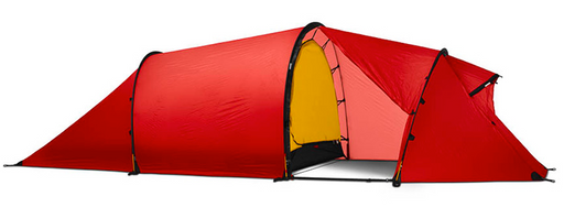 3 Person Nallo 3 GT Tent by Hilleberg - Green, Red, Sand