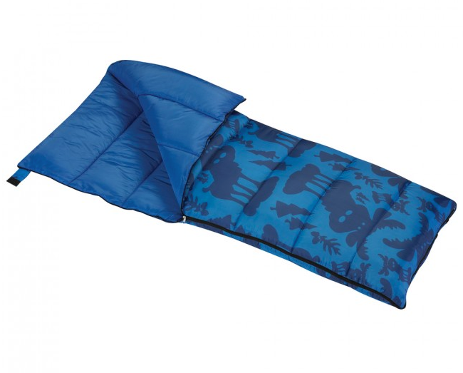 Boys Blue Moose Sleeping Bag by Wenzel