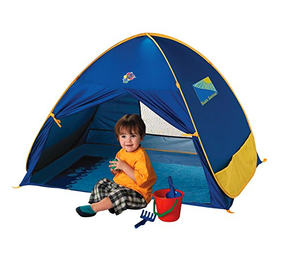 UV Play Shade Baby Beach Tent by Schylling - SPF 50+