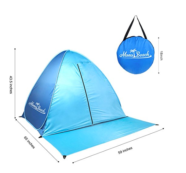 ... Pop Up Beach Tent for Babies by MonoBeach ...  sc 1 st  Tentsy & Pop Up Beach Tent for Babies by MonoBeach - UV Protection | Tentsy ...