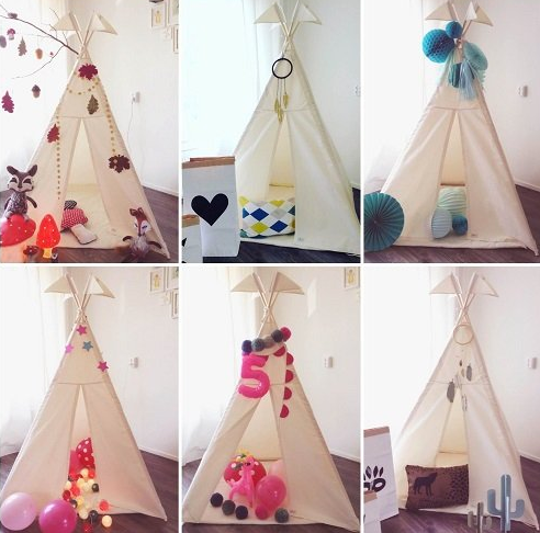 ... Kids Teepee Play Tent by Little Dove ... & Kids Teepee Play Tent by Little Dove - Cotton Canvas | Tentsy u2014 tentsy
