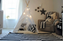 Kids Teepee Play Tent by Little Dove