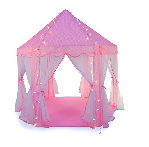 Pink Princess Tent for Girls by Truedays - Indoor/Outdoor