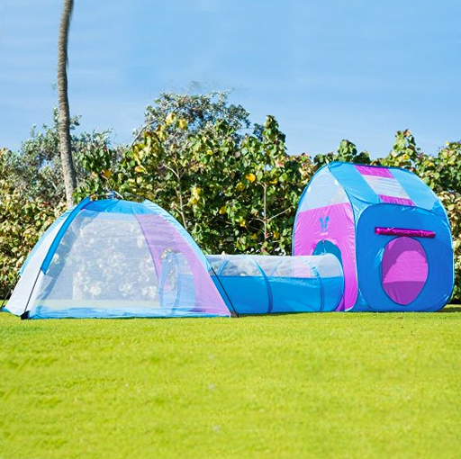 Kids 3-in-1 Tunnel Tent by Unicorn - Indoor/Outdoor : best tunnel tent - memphite.com