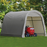 Instant Shed Storage Tent by ShelterLogic - Round - 10 x 10